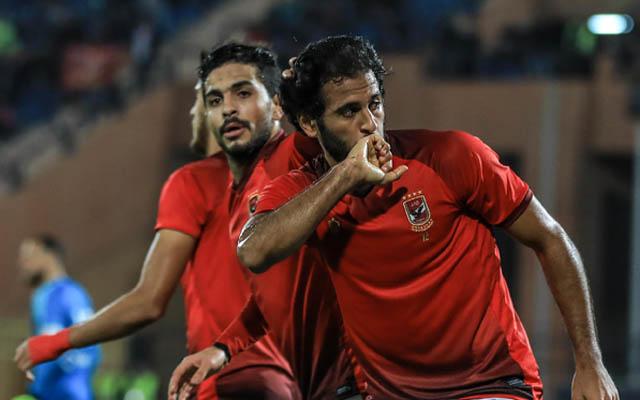 الأهلي يفوز على طلائع الجيش بهدفين لمروان محسن في الدوري المصري
