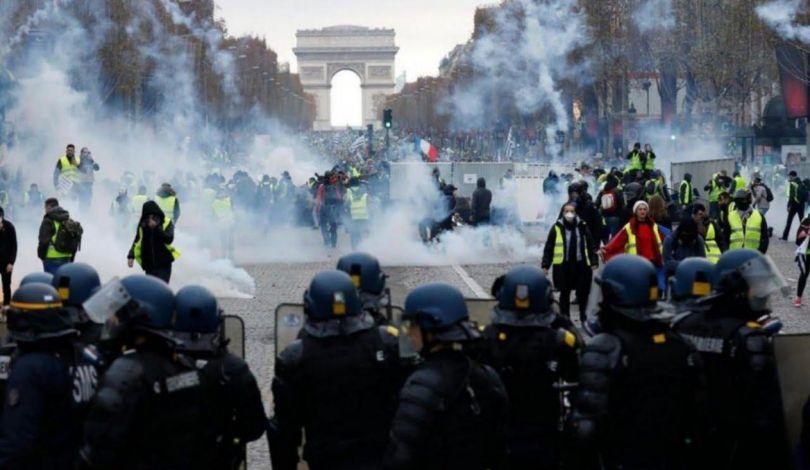 هدوء حذر في مناطق أعمال الشغب بالعاصمة الفرنسية باريس
