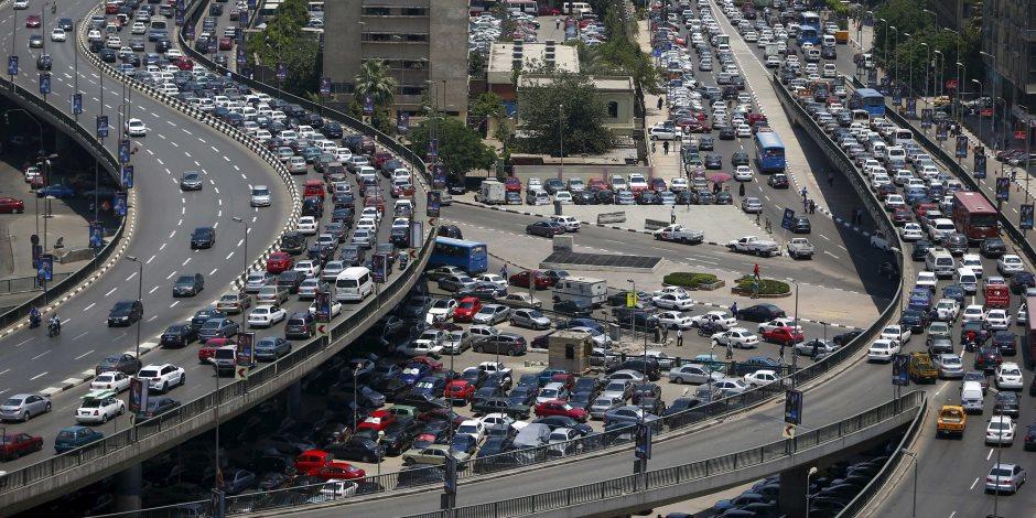 كثافات مرورية في محور الشهيد وشارع الثورة بسبب أعمال إصلاحات