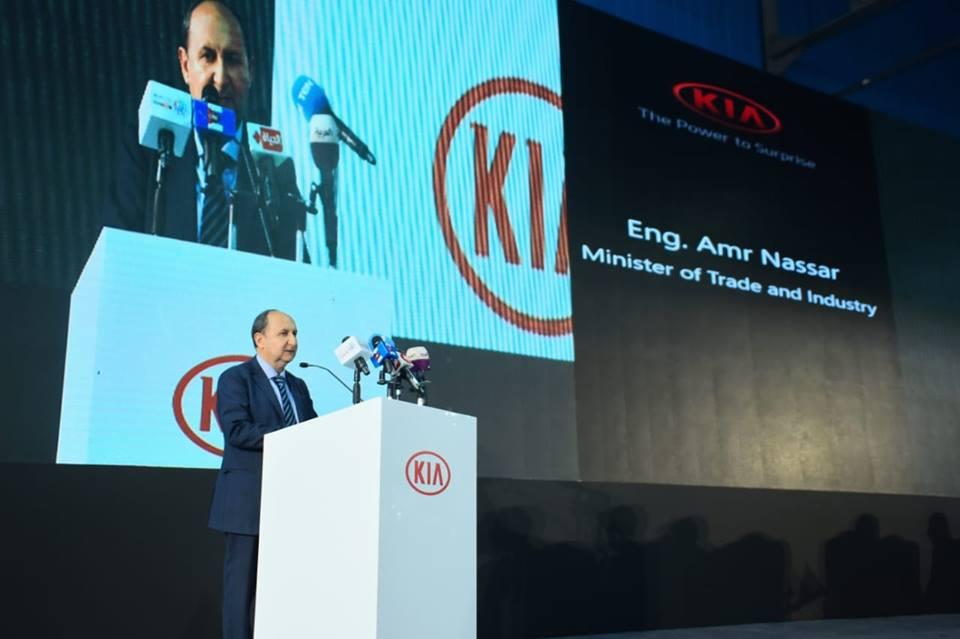 صور| وزير الصناعة : مصر تمتلك كل المقومات لتكون منصة رئيسية لتصنيع وتجميع السيارات