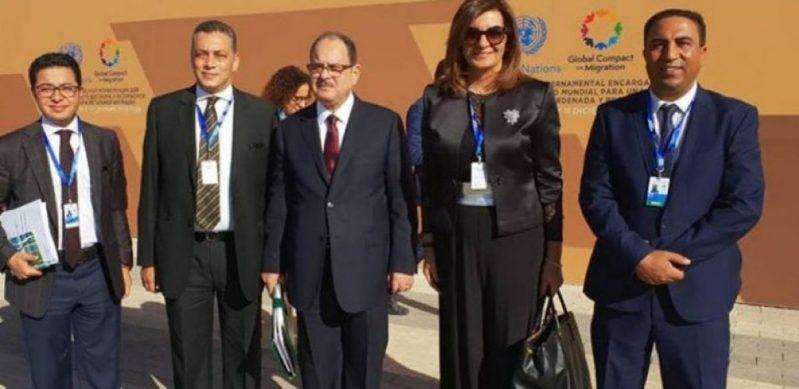 وزيرة الهجرة : الثقافة المصرية تقوم على توفير الأمان والملجأ للمحتاج دون شروط