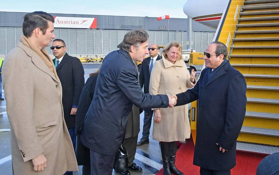 زيارة الرئيس السيسي للنمسا تتصدر عناوين الصحف المصرية