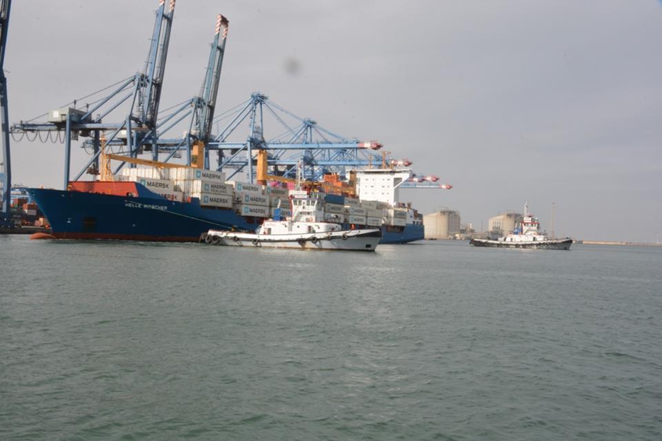 ميناء دمياط يستقبل 12 سفينة بضائع العامة