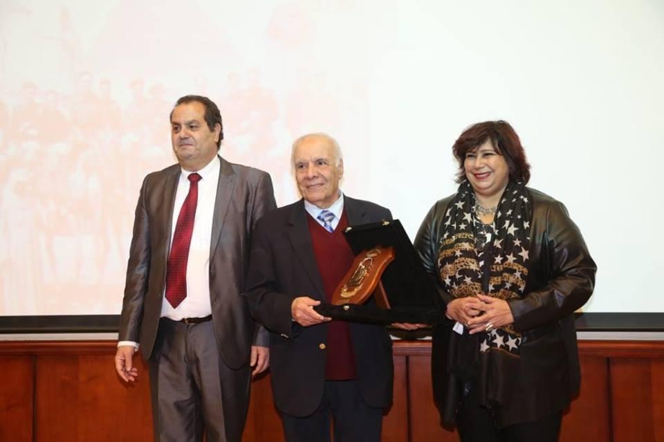 صور| وزير الثقافة تكرم الفائزين بمسابقة رفاعة الطهطاوي بختام احتفالية يوم المترجم