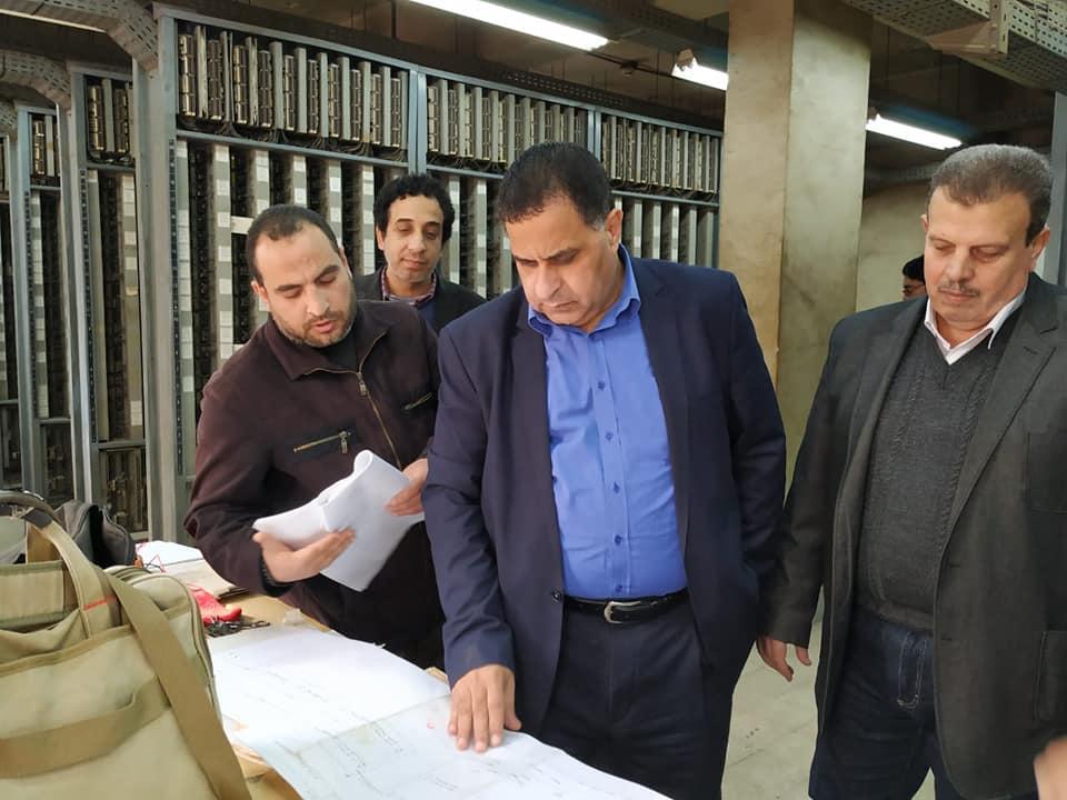 صور   رئيس السكة الحديد يتفقد أعمال كهربة إشارات خط «القاهرة – الاسكندرية»