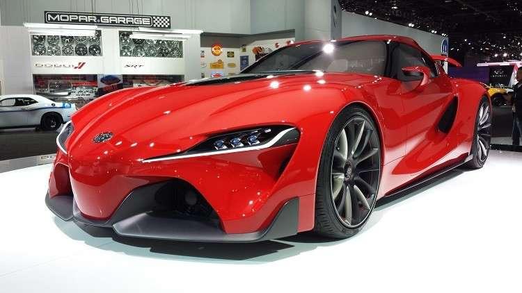 «تويوتا» تستعرض نموذجها الجديد من سيارات «Supra» الرياضية