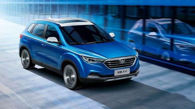 «FAW» الصينية تطرحأحدث نموذج من سيارات «Besturn X40» في روسيا