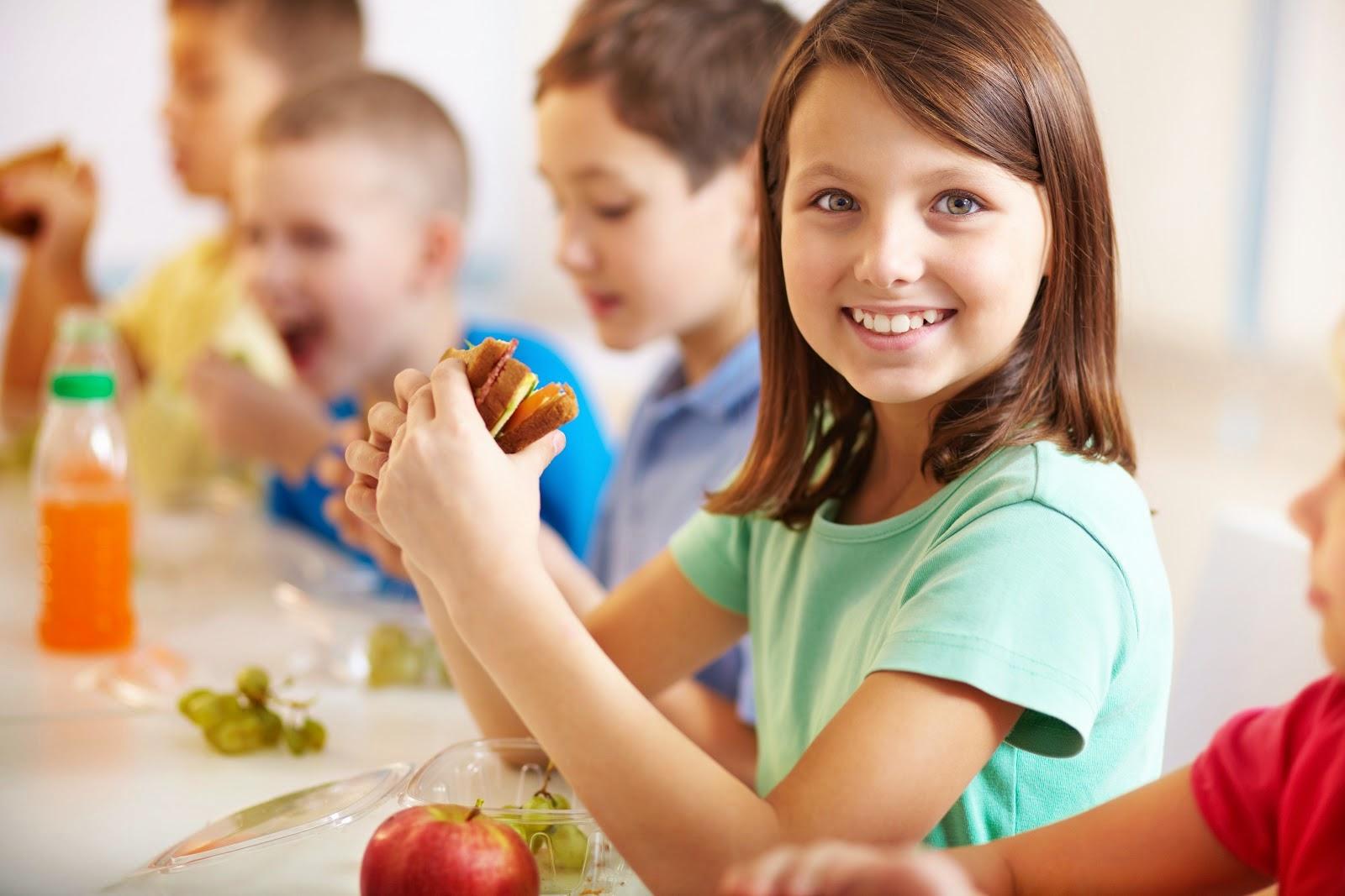 برامج التغذية المدرسية يمكن أن تساعد في تقليل البدانة بين الأطفال