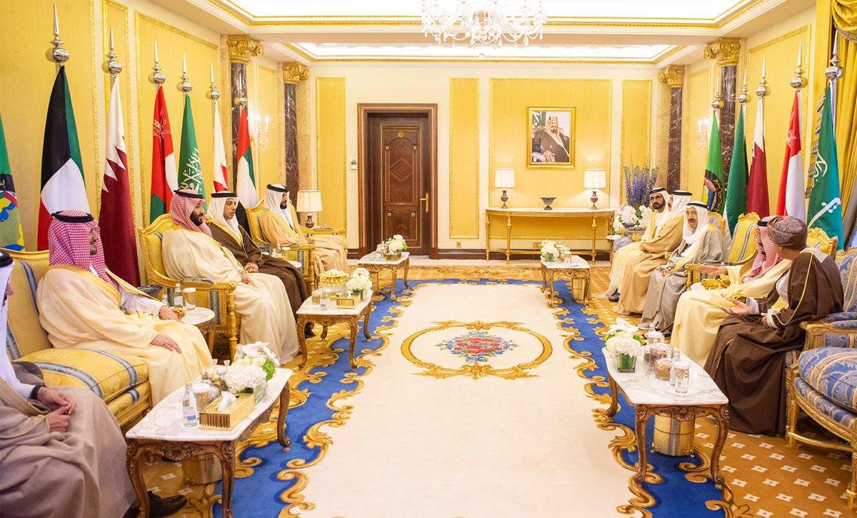 صور | قادة دول مجلس التعاون الخليجي يعقدون جلسة مغلقة تقتصر على رؤساء الوفود