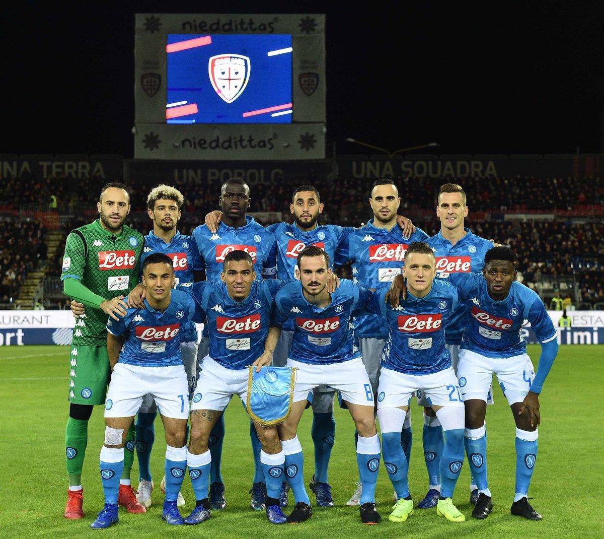 أركاديوش ميليك يقود نابولي لفوز متأخر على كالياري في الدوري الايطالي