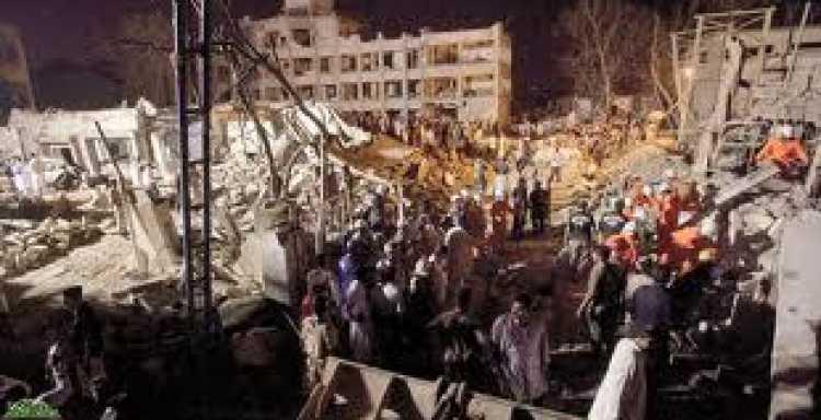 إصابة 6 أشخاص في انفجار وقع بمدينة كراتشي الباكستانية