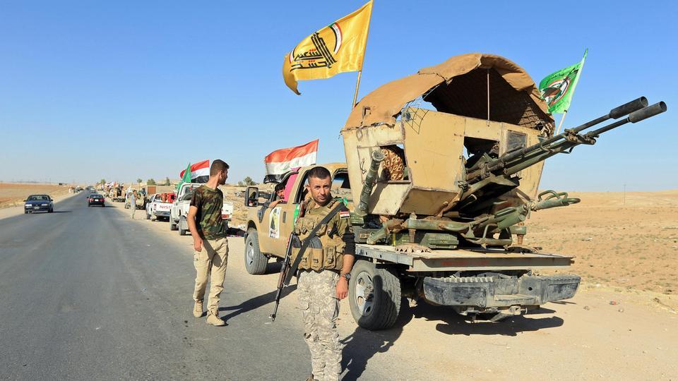 الحشد العراقي يدعو المحتجين المتواجدين قرب السفارة الأمريكية إلى الانسحاب