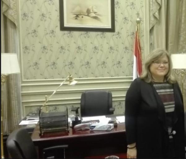 سفيرة سلوفينيا بالقاهرة : لا غنى عن دور مصر في الشرق الأوسط وأفريقيا