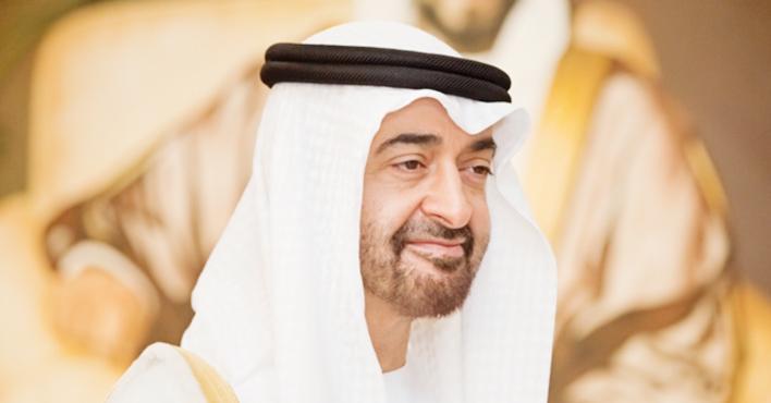 ولي عهد أبو ظبي يهنئ الرئيس الموريتاني المنتخب