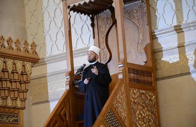صور | أسامة الأزهري رسائل مسجد الفتاح العليم تنطلق إلى العالم بعدة لغات