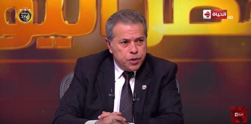فيديو | توفيق عكاشة: سلاما لـ شهداء الشرطة الذين قدموا حياتهم فداء لبلدهم