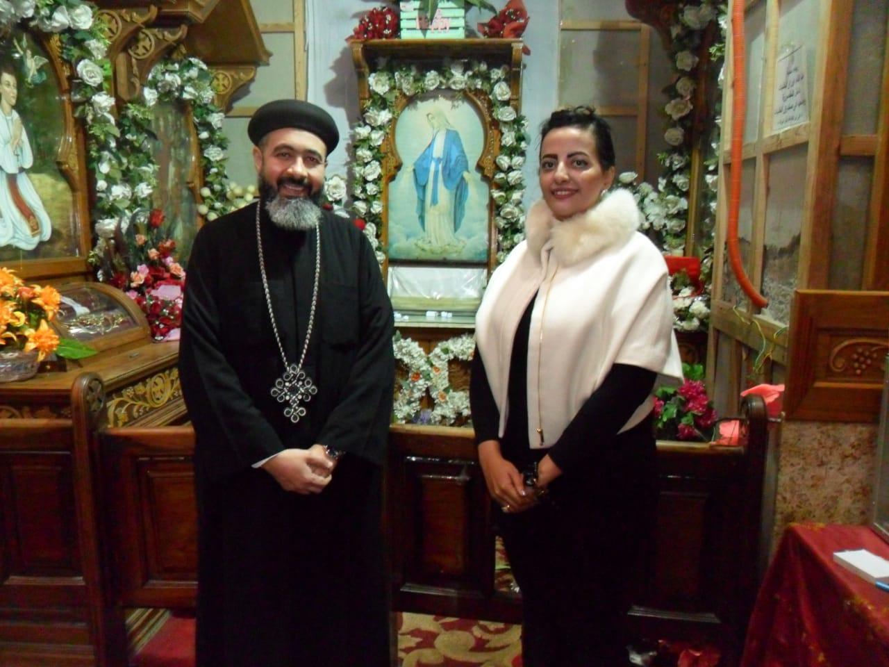 صور | المتحدث بأسم مطرانية الأقباط الأرثوذكس ببورسعيد نصلي من أجل من يسيئون إلينا