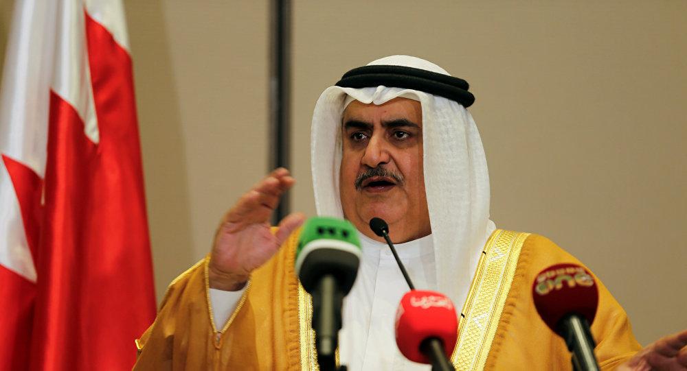 """وزير الخارجية البحريني يؤكد على دور """"التعاون الخليجي"""" في ترسيخ الأمن والاستقرار"""