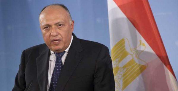 وزير الخارجية : مصر تتطلع لاستمرار التعاون مع الأونروا لتخفيف معاناة اللاجئين