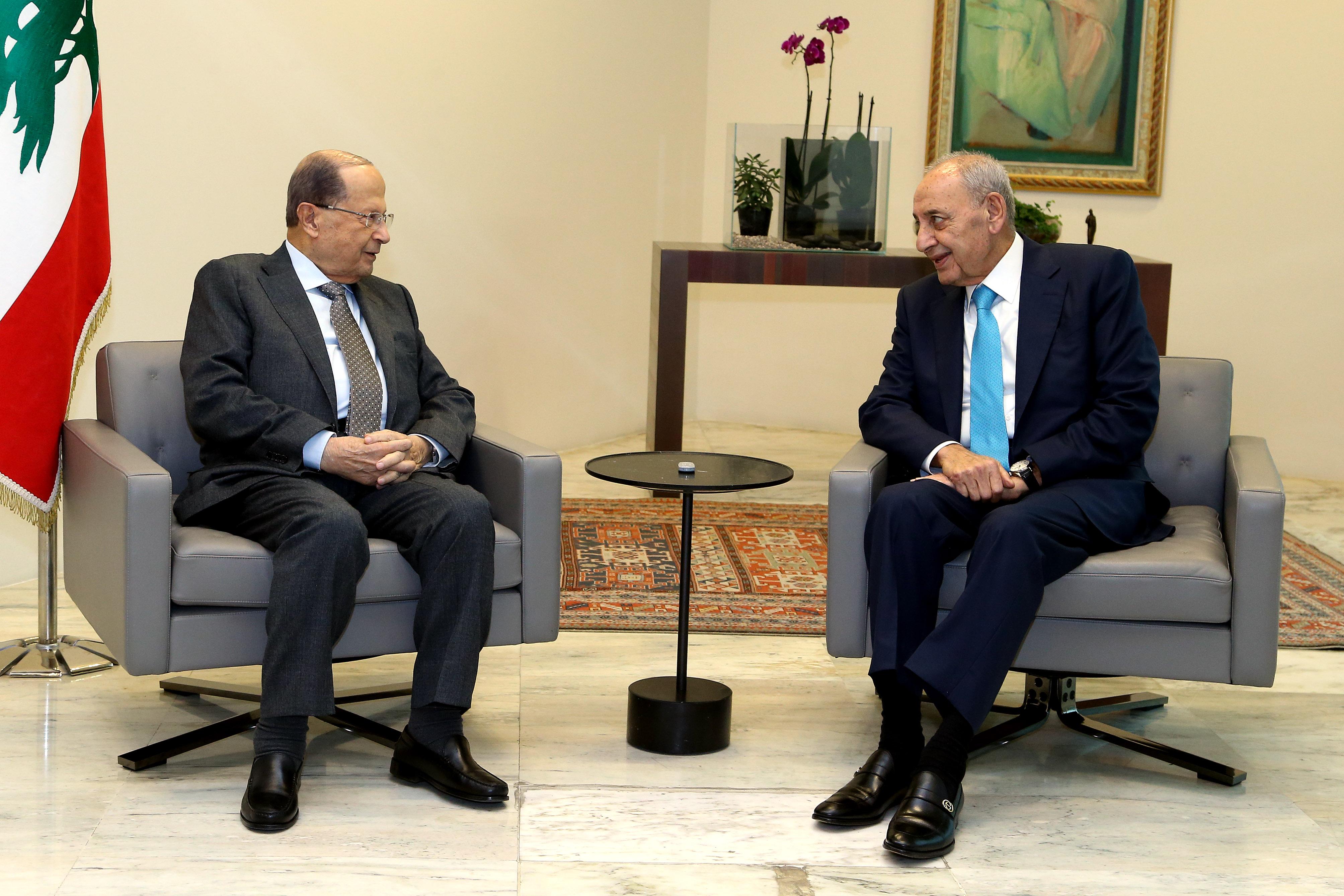 مستشارة الرئيس اللبناني: نأمل في تخفيف التشنج السياسي بين عون وبري