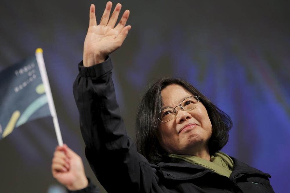 رئيسة تايوان : لن نقبل بمبدأ بلد واحد ونظامان مع الصين