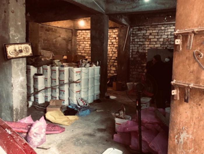 صور | الإدارة العامة لمكافحة المخدرات تداهم مصنع حشيش في الإسكندرية