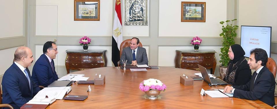 نشاط الرئيس السيسي وفوز مصر بتنظيم أمم أفريقيا يتصدران عناوين الصحف