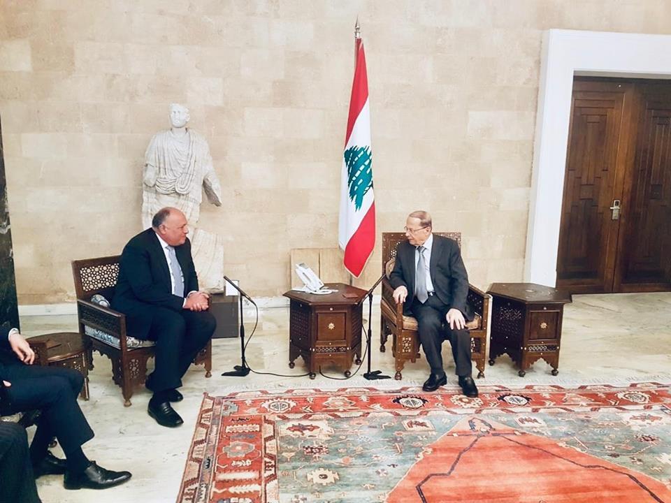 قمة بيروت واللقاءات المكثفة للوفد المصري تتصدر عناوين الصحف