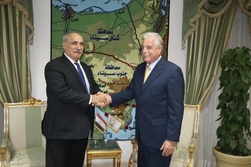 صور | نائب وزير الخارجية اليوناني : سنشارك بوفد ضخم في مؤتمر السلام بسانت كاترين