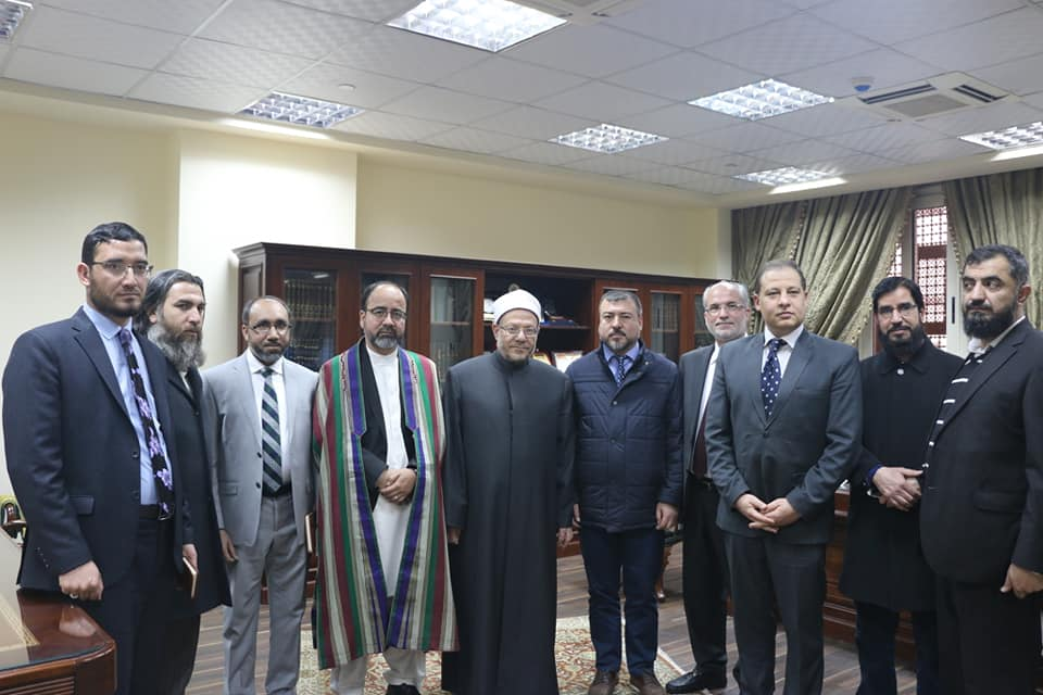 صور|وزير الحج الأفغاني يثمن جهود دار الإفتاء في محاربة الفكر المتطرف
