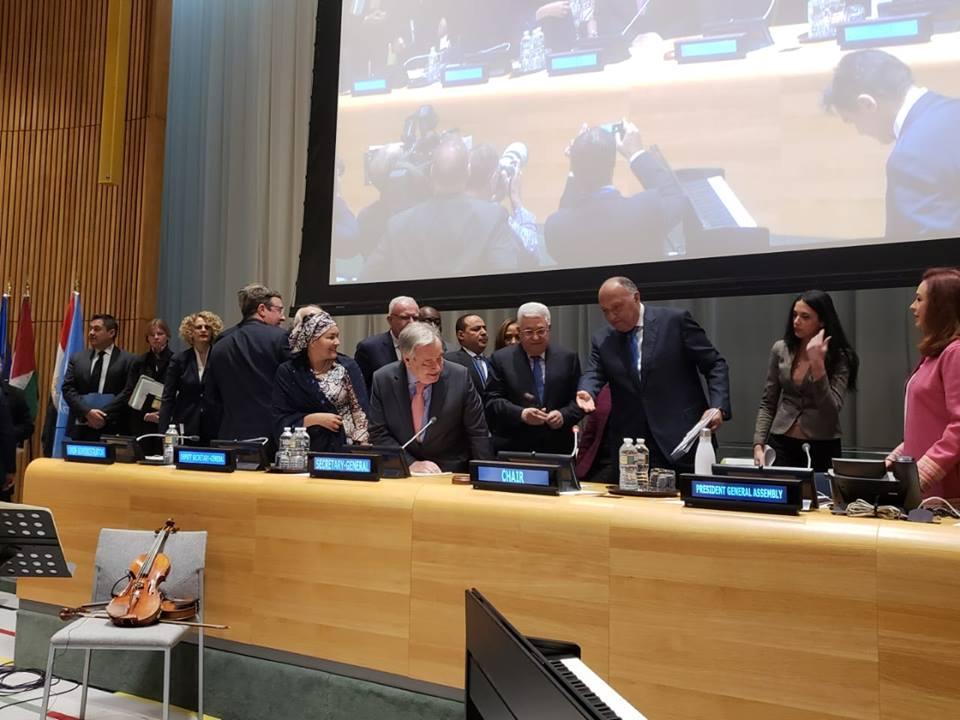 صور | وزير الخارجية : دور مجموعة «الـ77 والصين» قيادى فى جهود إصلاح الأمم المتحدة
