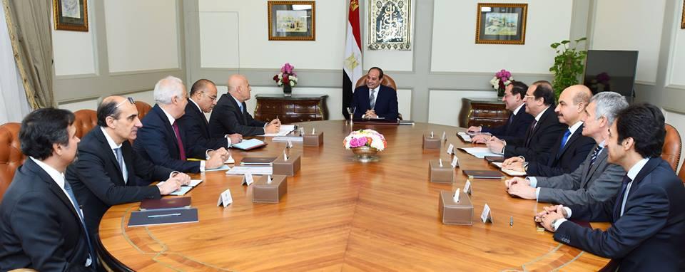 الرئيس السيسي يوجه بمواصلة التعاون المكثف مع شركة «إيني» الإيطالية للبترول