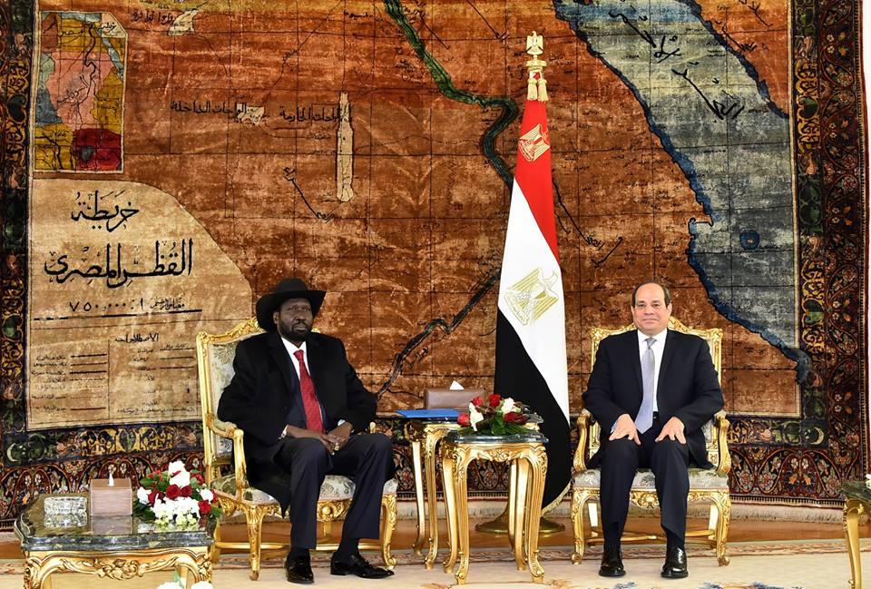 صور | تفاصيل مباحثات الرئيس السيسي مع سيلفاكير في قصر الاتحادية