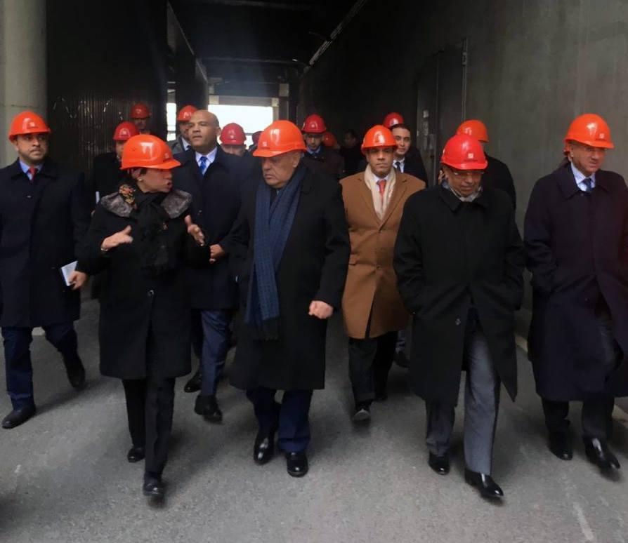 صور | وزراء الإنتاج الحربي والتنمية والبيئة والتصنيع يزورون شركة إدارة المخلفات بألمانيا