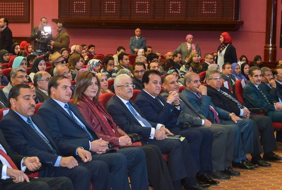 صور | انطلاق فعاليات المؤتمر القومى الأول لجامعة الطفل بحضور 3 وزراء