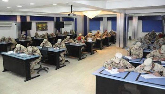 القوات المسلحة تنظم اختبارات لاختيار المجندين المتميزين فى تكنولوجيا المعلومات