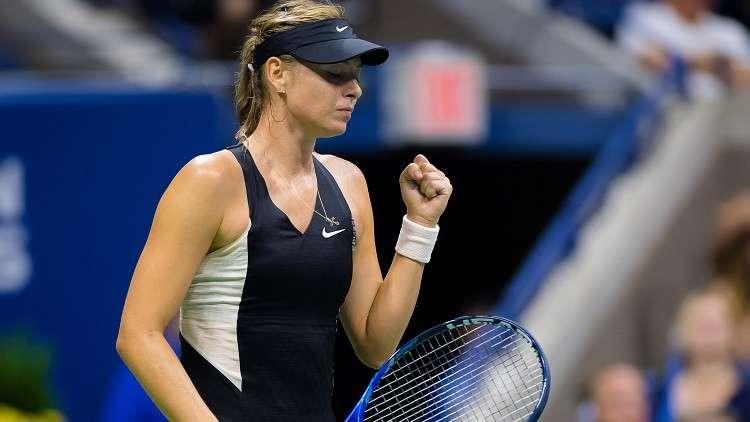 انسحاب ماريا شارابوفا من ربع نهائي بطولة شينجن المفتوحة للتنس