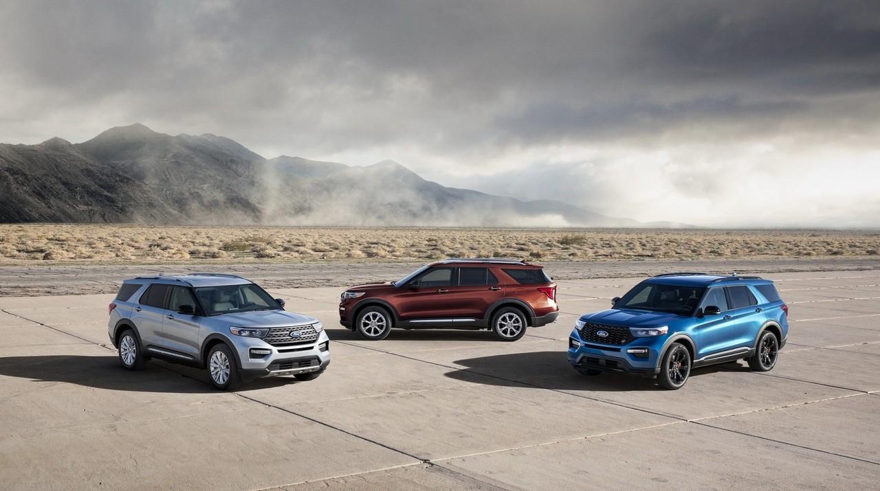 شركة فورد تستعرض أحدث نموذج من سيارات «Explorer» رباعية الدفع الشهيرة
