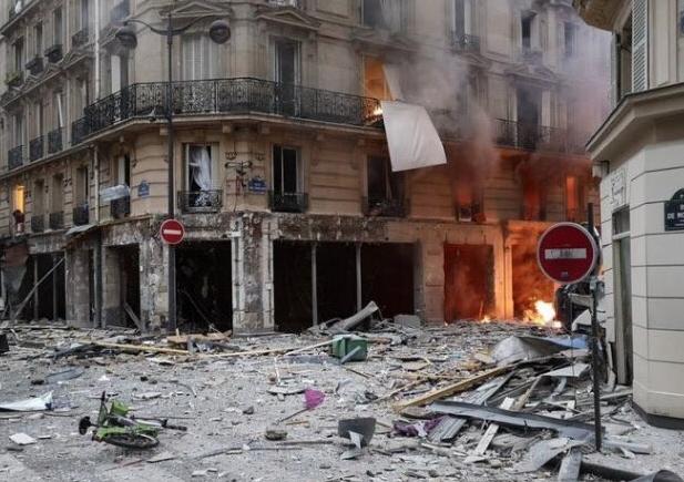 إصابة 9 أشخاص جراء انفجار وسط العاصمة الفرنسية باريس