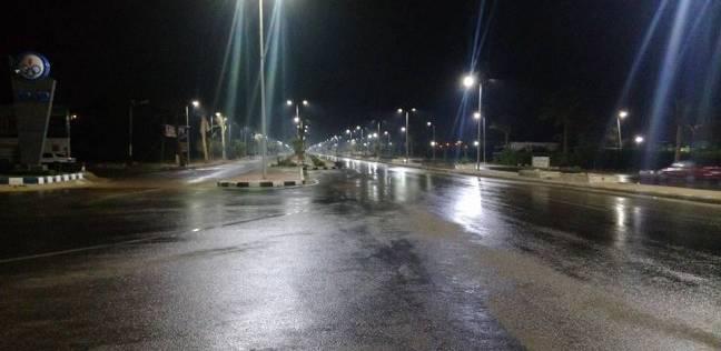 سقوط أمطار غزيرة على القاهرة والجيزة وسط حالة من عدم الاستقرار الجوي