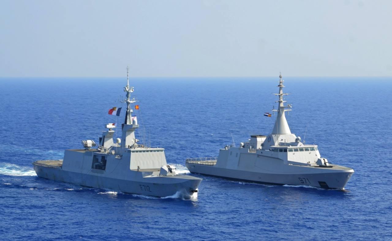 اليابان وفرنسا تجريان مناورات مشتركة في المحيط الهندي