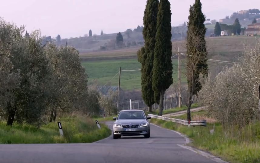 صور و فيديو   تعرف على مميزات سيارة «Superb» الجديدة من «سكودا»