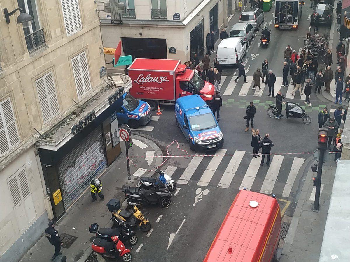 الشرطة الفرنسية تعلن عن وقوع عدد من الجرحى في انفجار باريس