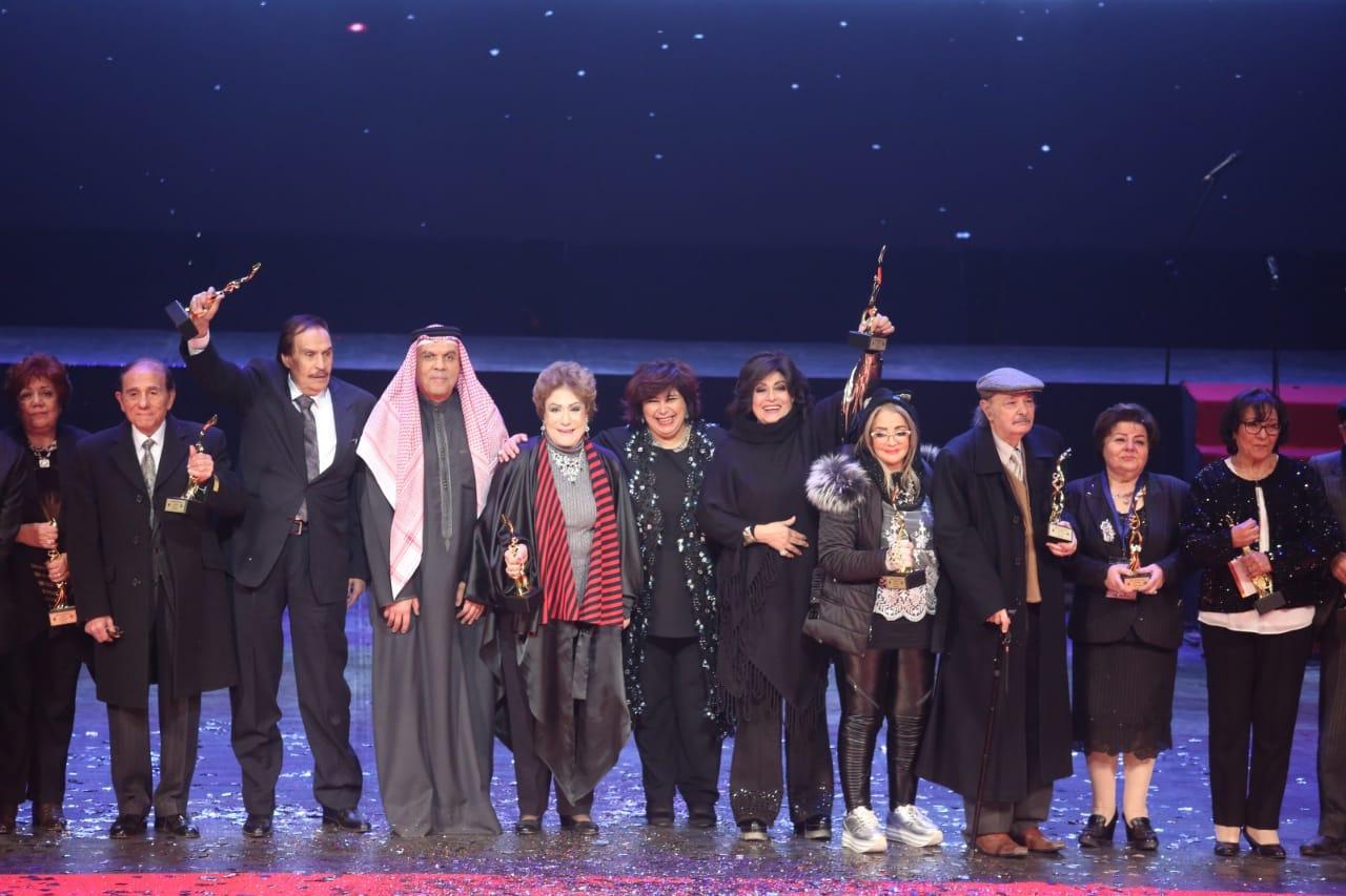 صور | وزير الثقافة تفتتح الدورة الحادية عشرة من مهرجان المسرح العربي