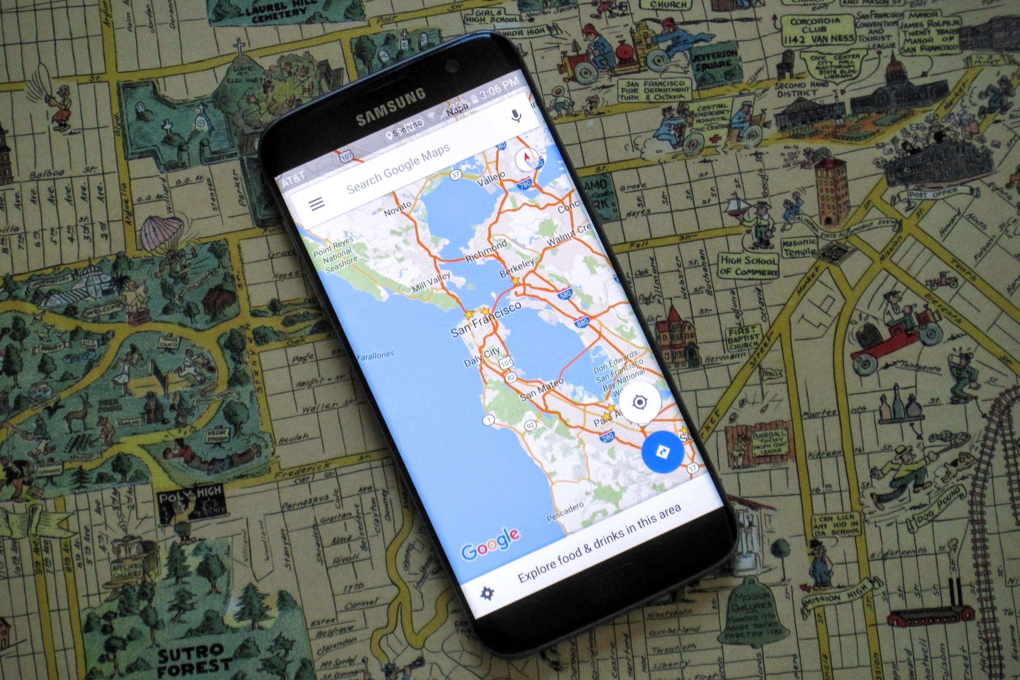 خرائط جوجل تفعل خاصية جديدة لتحديد أماكن رادارات السرعة