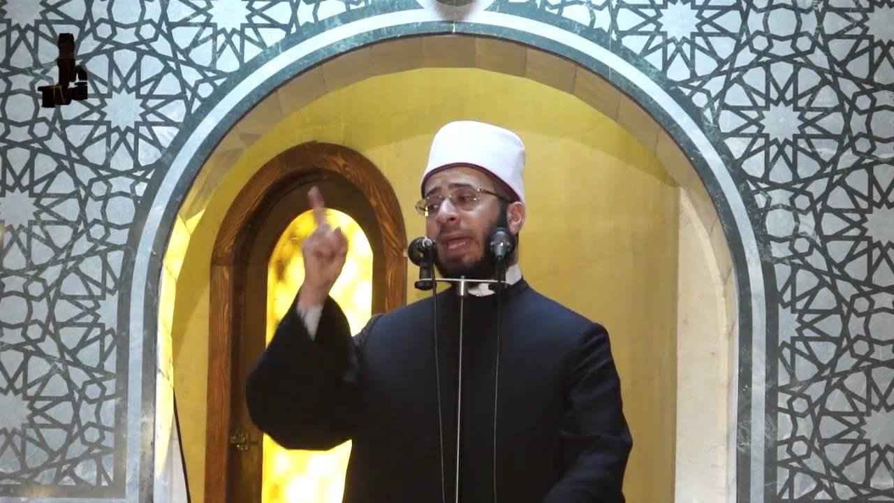 أول خطبة جمعة من مسجد الفتاح العليم بالعاصمة الجديدة يلقيها أسامة الأزهري