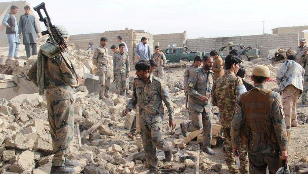 مقتل 16 مدنيا في غارة جوية على إقليم هلمند جنوبي أفغانستان