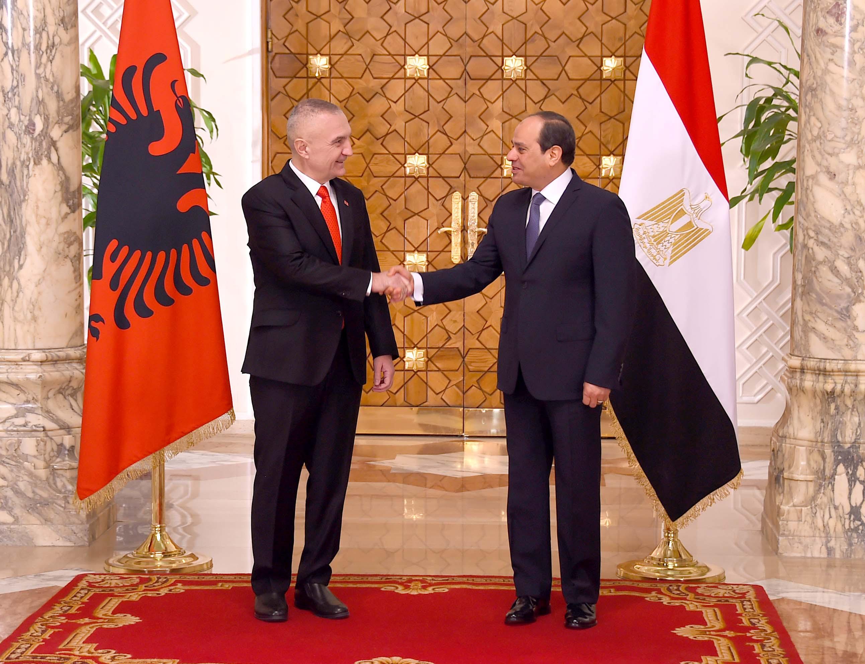 صور  نص كلمة الرئيس السيسي خلال المؤتمر الصحفي المشترك اليوم مع رئيس جمهورية ألبانيا