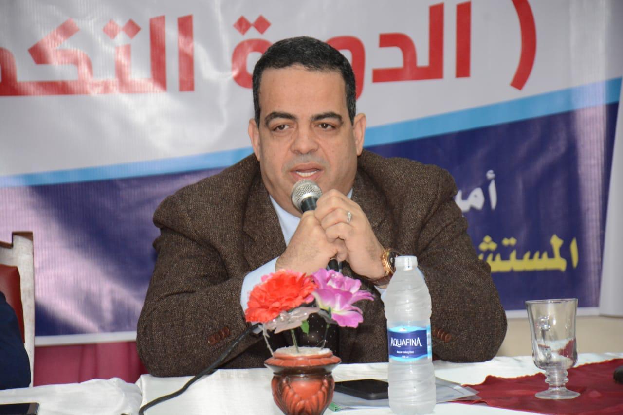 أمين مستقبل وطن : الرئيس السيسي يحث بمؤتمرات العالم على الاستثمار بمصر