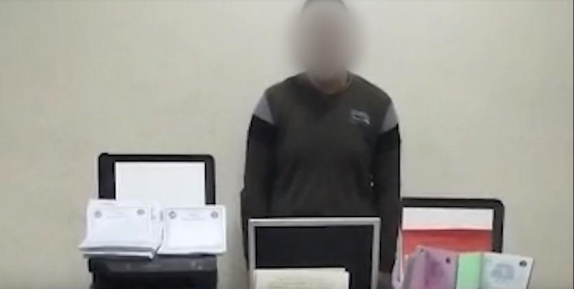 فيديو | ضبط أحد الأشخاص لمزاولة نشاطاً إجرامياً فى مجال النصب بالإسكندرية